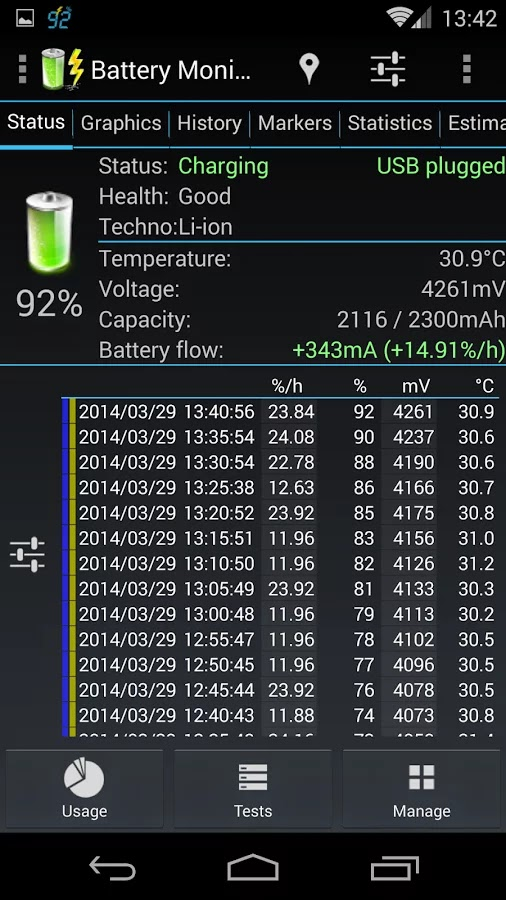 Battery Monitor Widget Pro v3.11