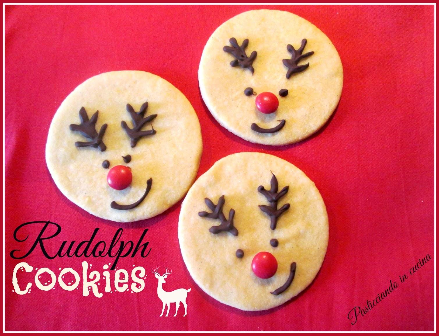Rudolph Cookies...ovvero i biscottini a forma di renna!