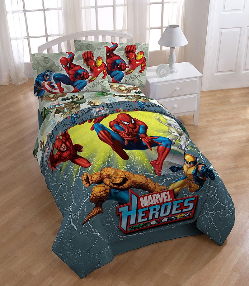 Avengers bedding marvels