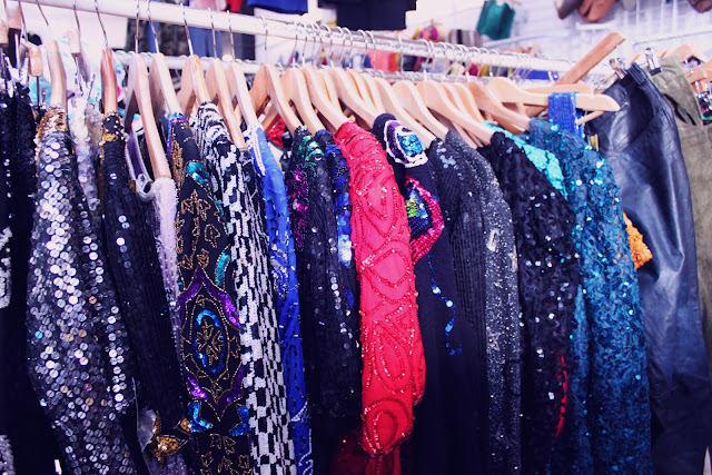 vintage sequin clothes