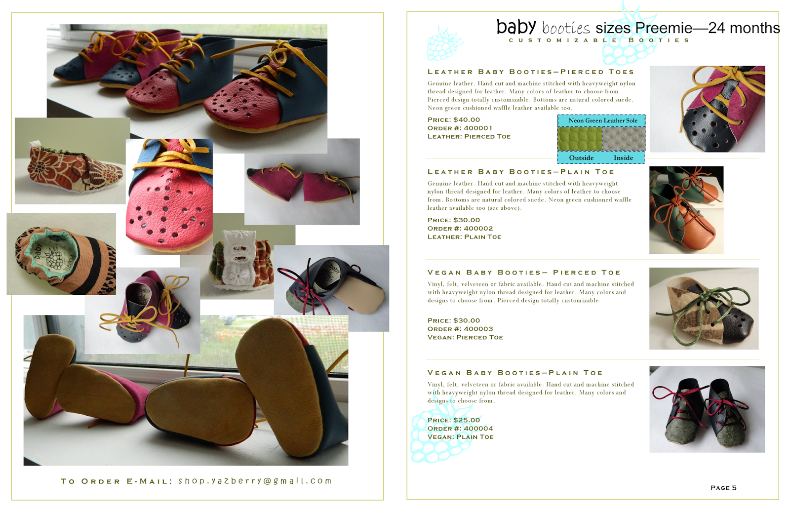 baby berry Catalog Winter 2014-2015 Pages 4-5