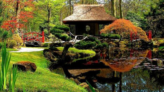 Let 39 s learn japanese japanese gardens nature beauty and harmony - Oriental garden design ideas ...
