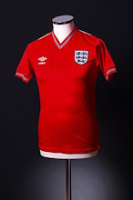 1984-87 England Away Shirt