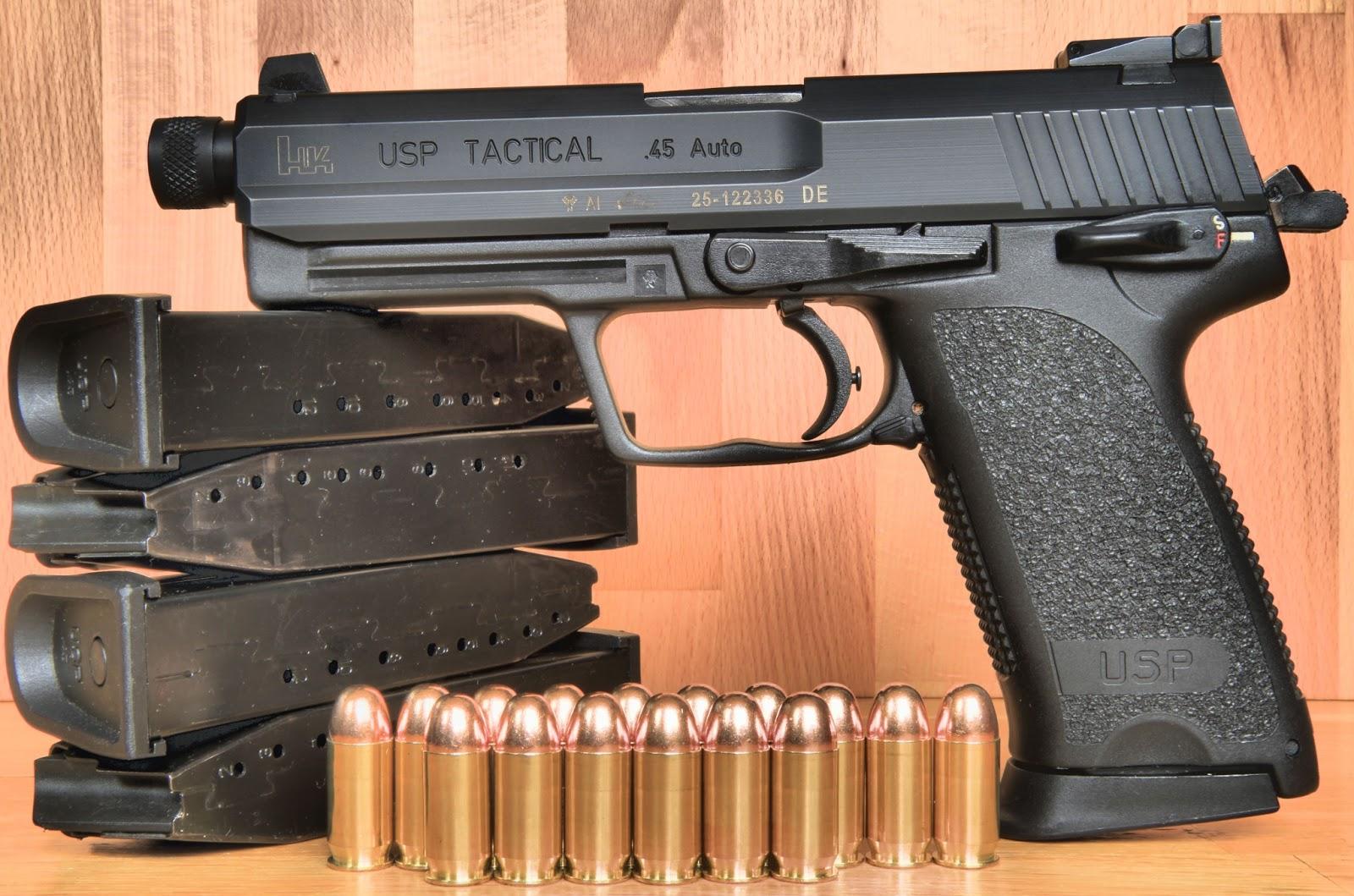 HK USP Tactical 45