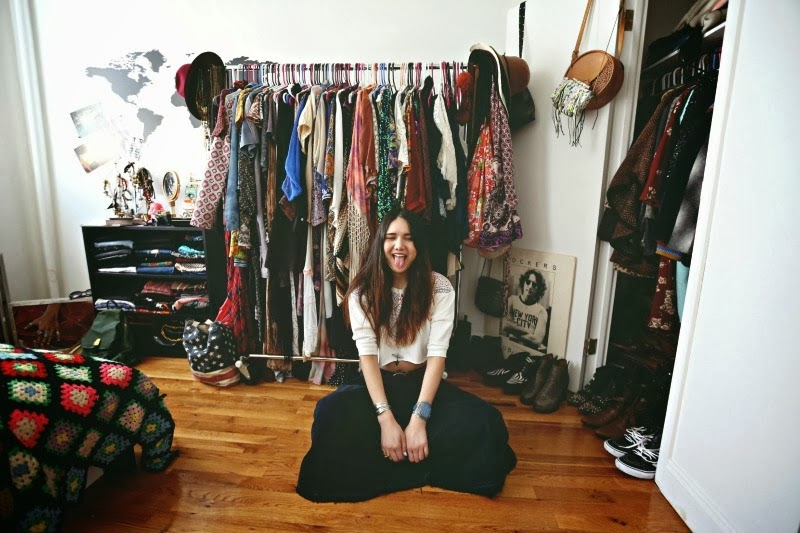 Awesome ... Style A Few Times On My Blog As I Adore Her Bohemian Styling And  Fearlessness With Layering. Visit Her Blog To See More Pics Of Her Eclectic  Closet.