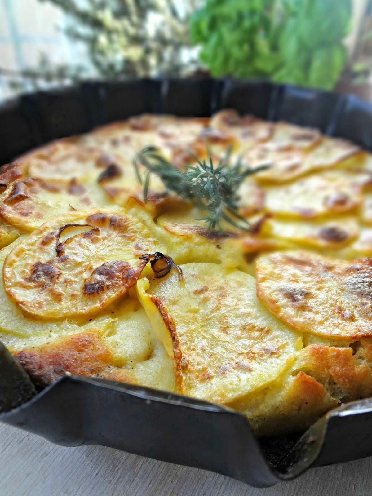 Focaccia con e patate