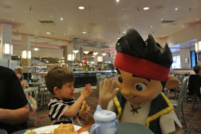 Ethan and Jake from Jake and the Neverland Pirates