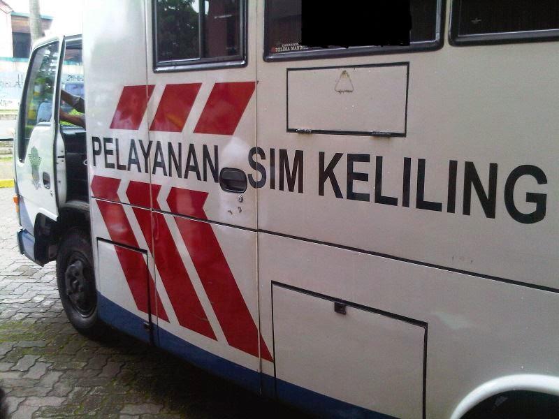Banten11 Lokasi Layanan SIM Dan STNK Keliling Di Kota Serang