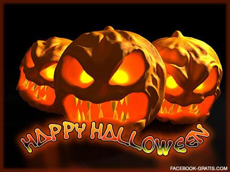 Happy Halloween Calabazas