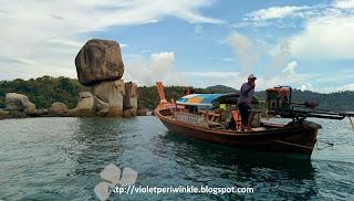 island hopping Koh Lipe funny rocks