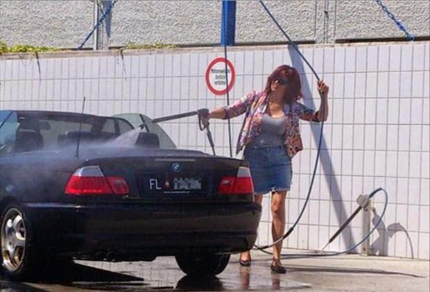 Como lavar um carro Conversivel