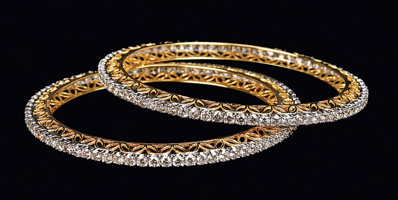 life style: Buy Diamond Bangles Online and Adorn Yourself with ...