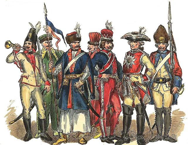 Żołnierze_polscy_1697_1795_Jan_Matejko