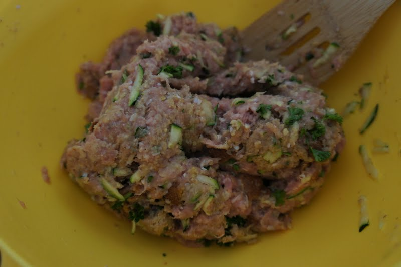 Eating My Way Back: Greek Turkey Meatballs and Skinny Tzatziki