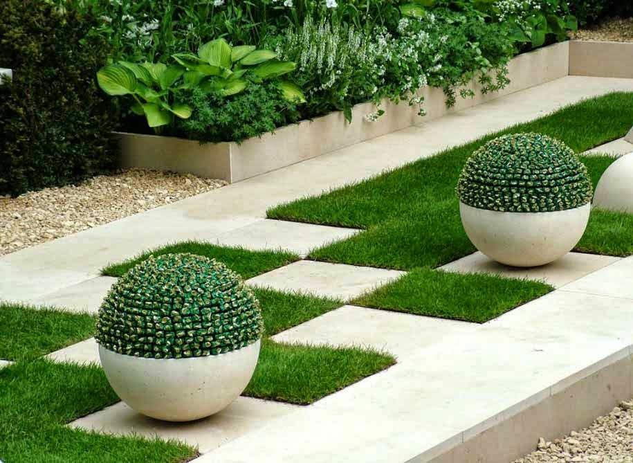 Memfungsikan Taman Rumah Minimalis Modern Untuk Resapan Air