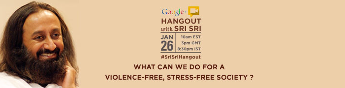How to Join the Google+ Hangout with Sri Sri?