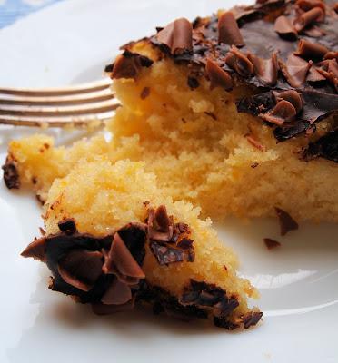 Chocolate Orange Drizzle Cake National Trust