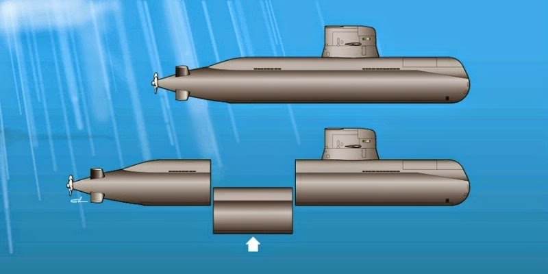 Full Frame Singapore Navy S New Submarines Hdw Type 218sg
