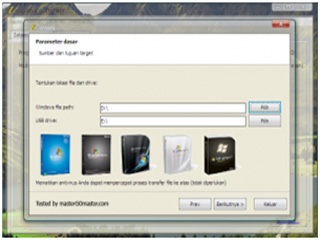 Membuat Bootable Windows XP dari CD melalui FlashDisk