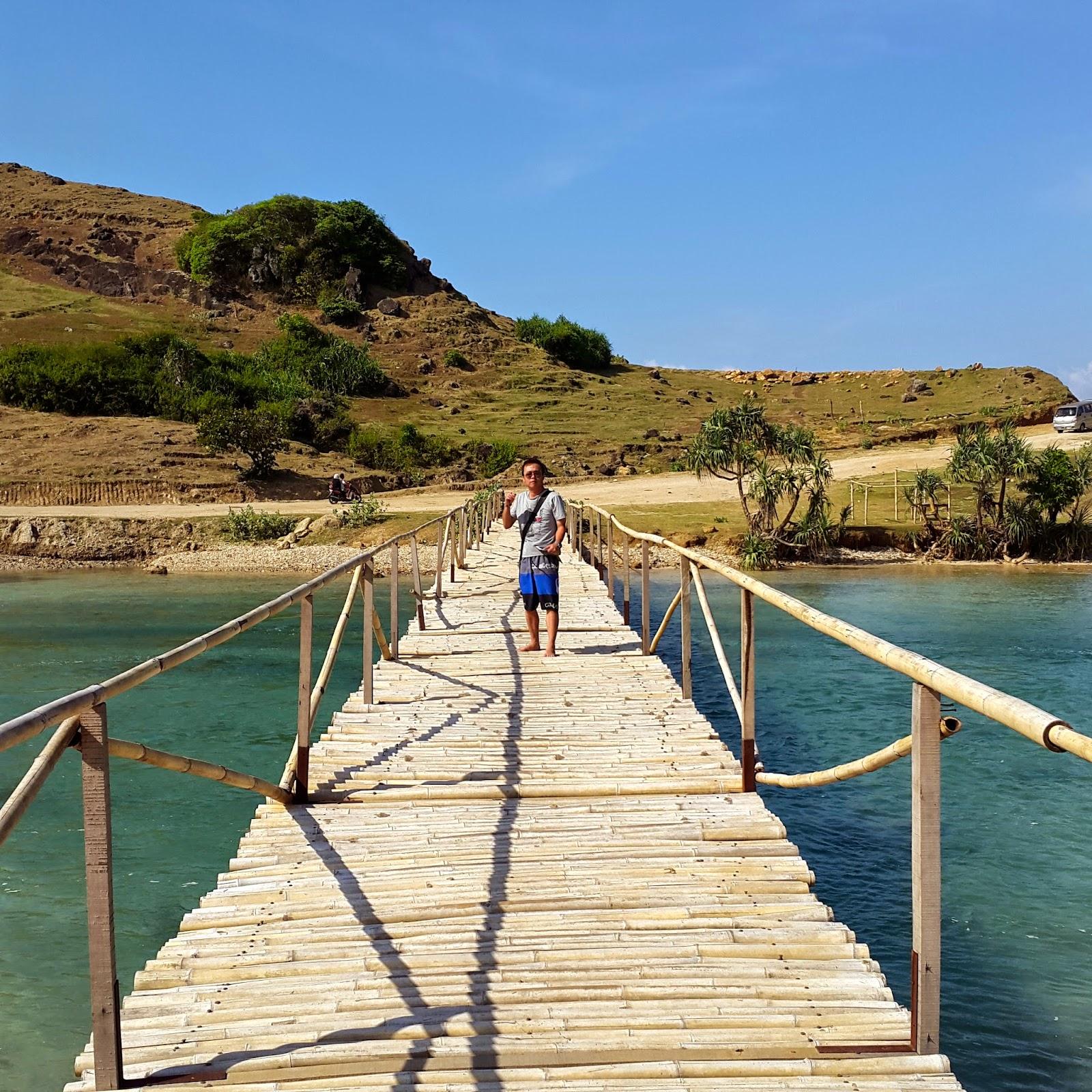 Bamboo Bridge Mandalika Beach Lombok