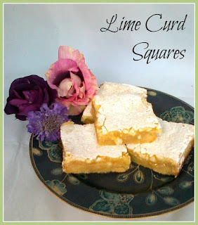 Lime Curd Squares