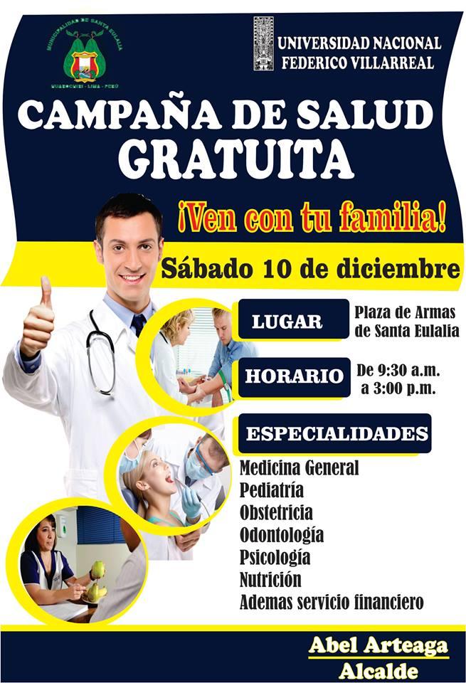 CAMPAÑA DE SALUD GRATUITA