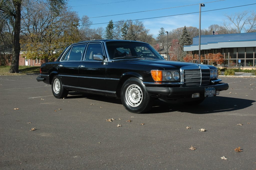 Just A Car Geek 1979 Mercedes Benz 450sel 6 9