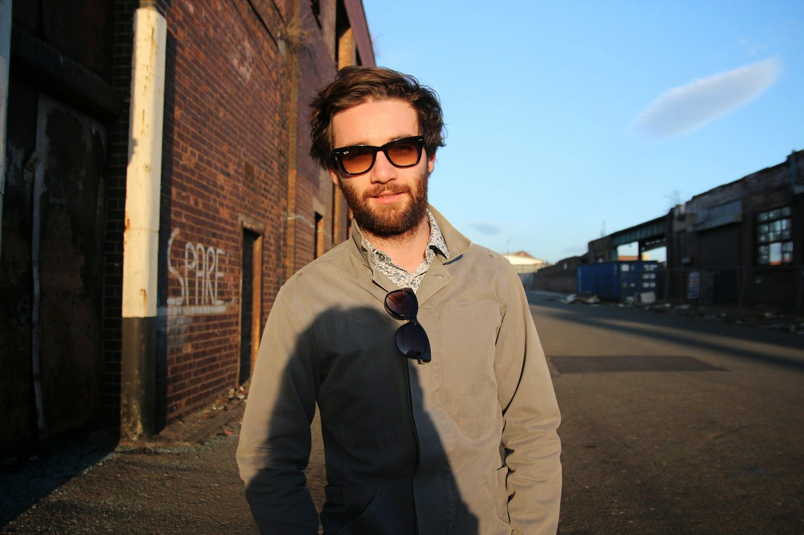 street style, menswear, ray bans, reiss, ted baker