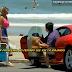 Pânico faz teste da Ferrari com mulheres brasileiras