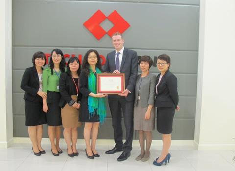 HSBC VietNam Winning Two Presitigious awards from Financeasian