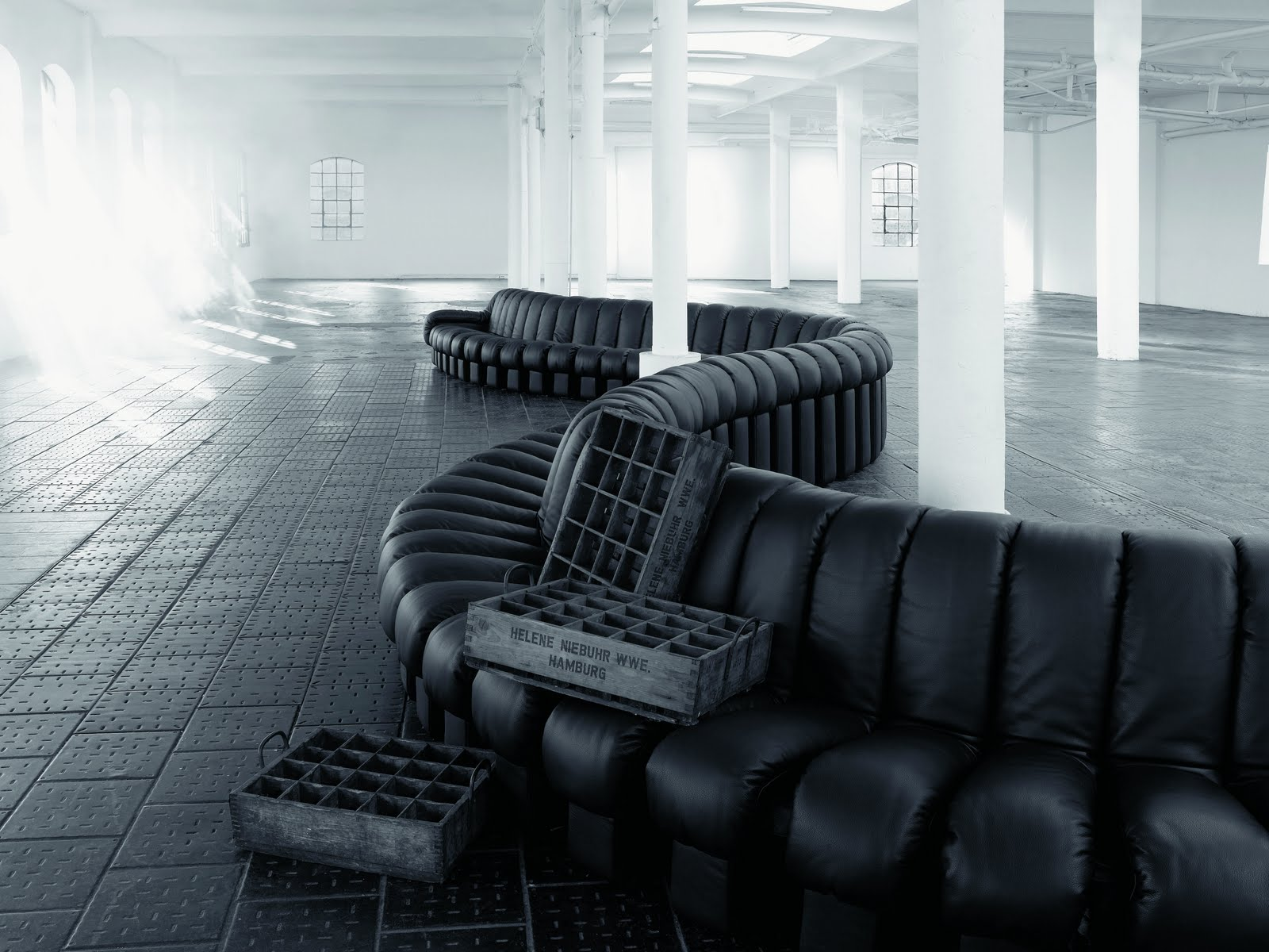 The Ultimate Modern Non Stop Sofa: The Endless DS 600 Sofa By De Sede From  1974.