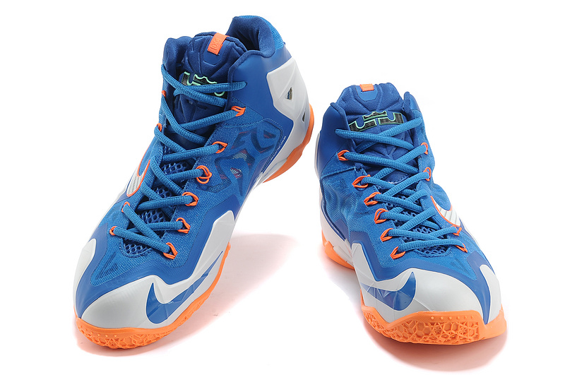 Nike LeBron 108 BlueBlackWhite Basketball Shoes On Sale For USA