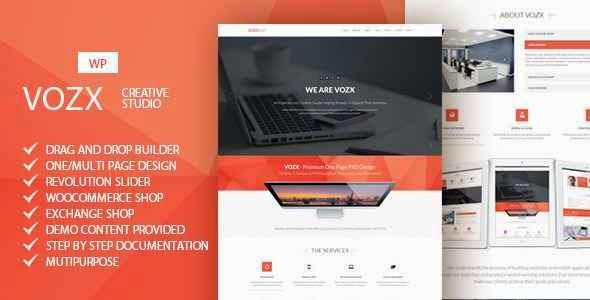 Vozx - Multipurpose WordPress Theme Download