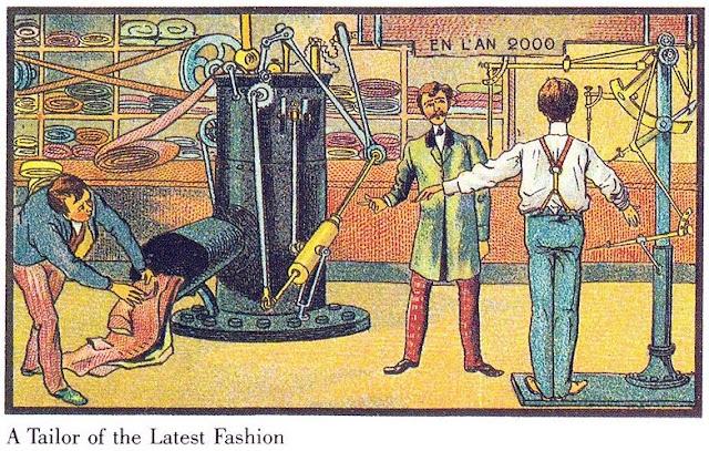 Imaginasi orang 116 tahun dahulu tentang teknologi pada tahun 2000, lihat ada persamaan atau tidak
