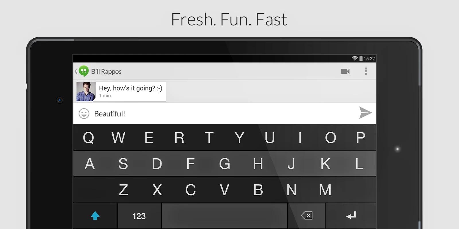 Fleksy Keyboard - Happy Typing v2.5.1 (build 79)
