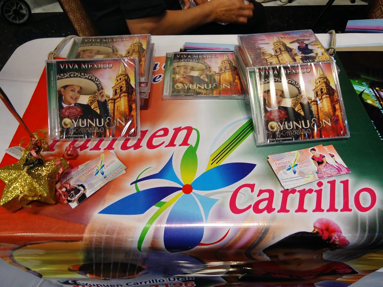 Yunuen Carrillos's CD