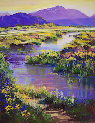 Montane Meadow at Evening
