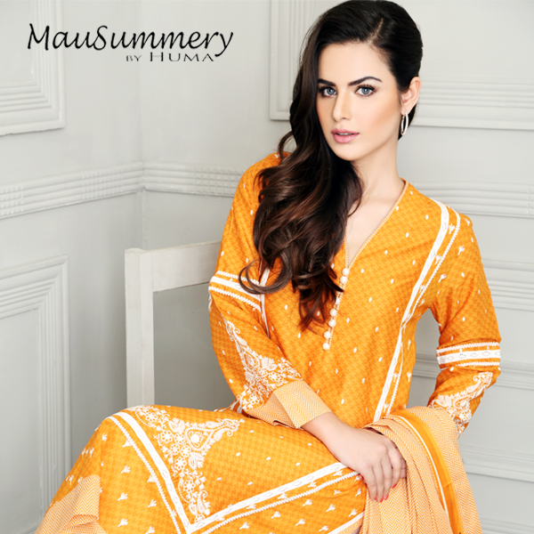 Mausummery by Huma Eid collection 2014