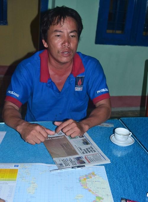 Trung Quốc lại tấn công, cướp tài sản tàu cá Quảng Ngãi ở Hoàng Sa