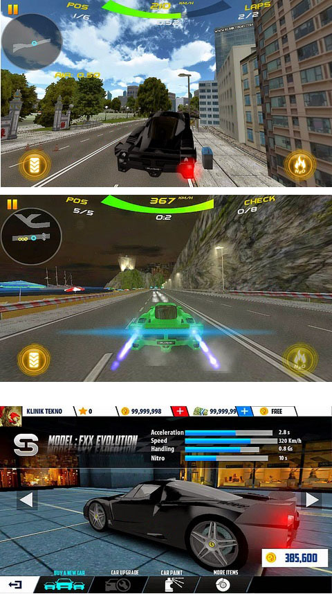 Game keren King of Racing 2 mod hack Money tak terbatas