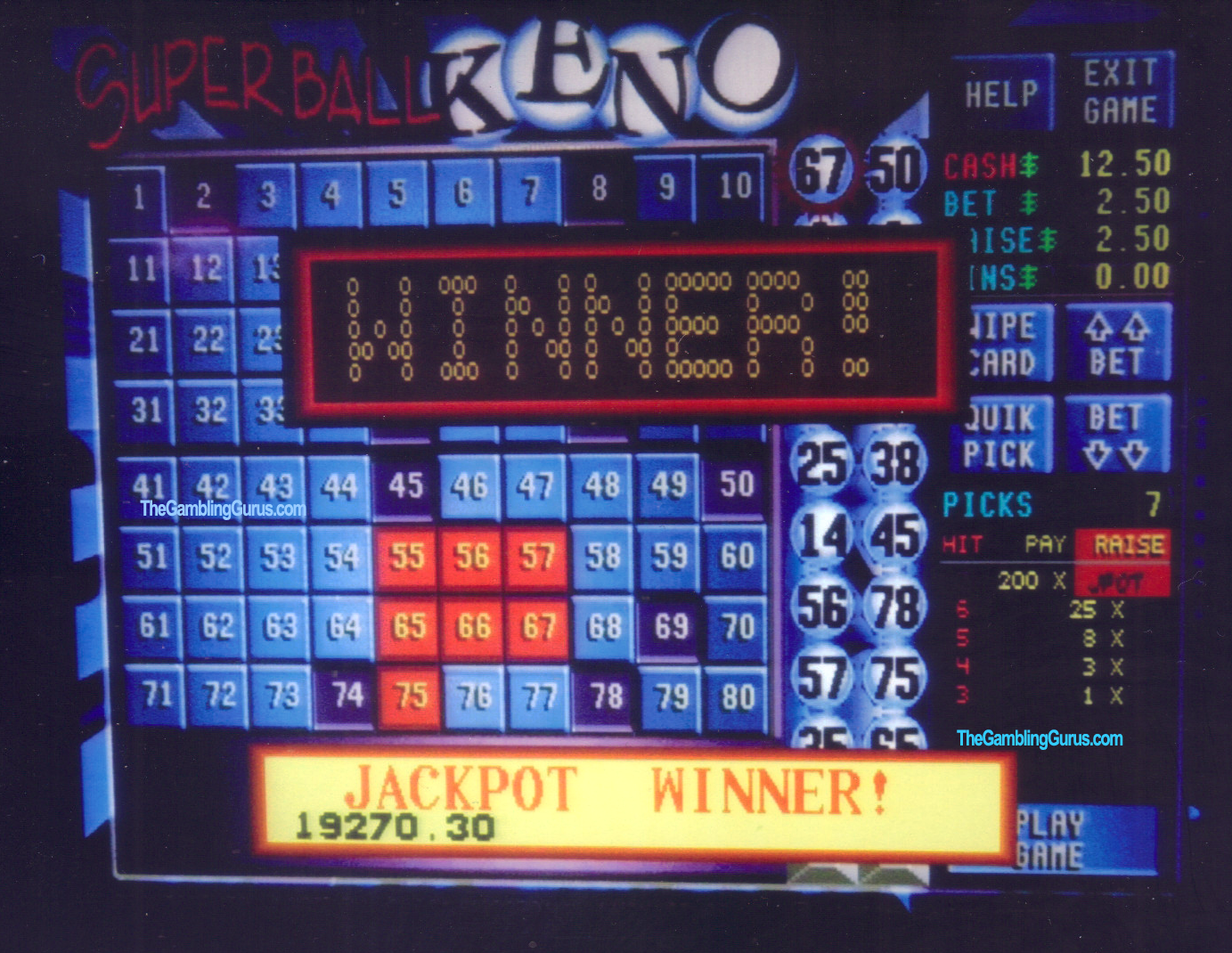 keno lotto cheats