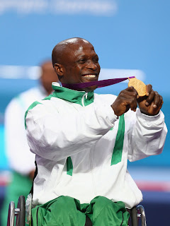 Nigeria's Yakubu Adesokan Breaks World Record, Wins First Gold Medal At 2012 Paralympics In London