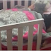 Mom Surprised To Find Her Rescue Dog Napping With Her Daughter