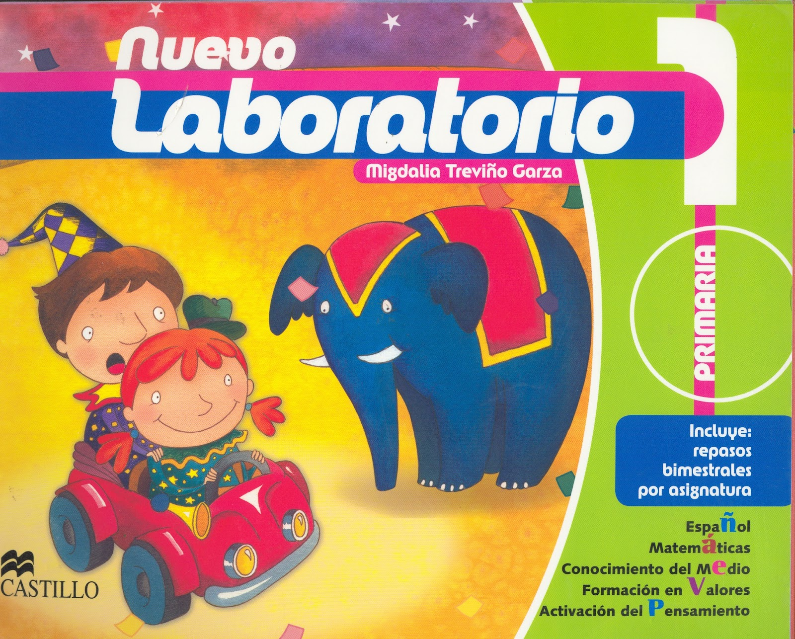 "ESCUELA PRIMARIA PROFR ""BENITO ACOSTA"": LIBROS NUEVO LABORATORIO"