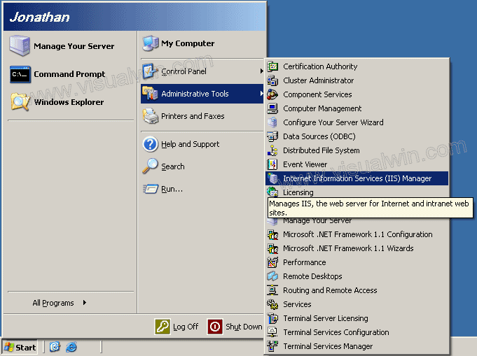 how to change what services run on startup windows 7