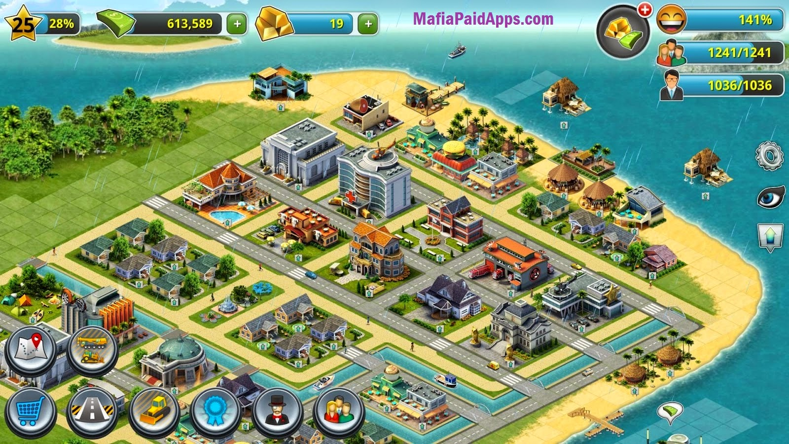 City island 3 скачать на андроид мод