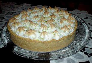 Receita Torta de Limão com Leite Condensado