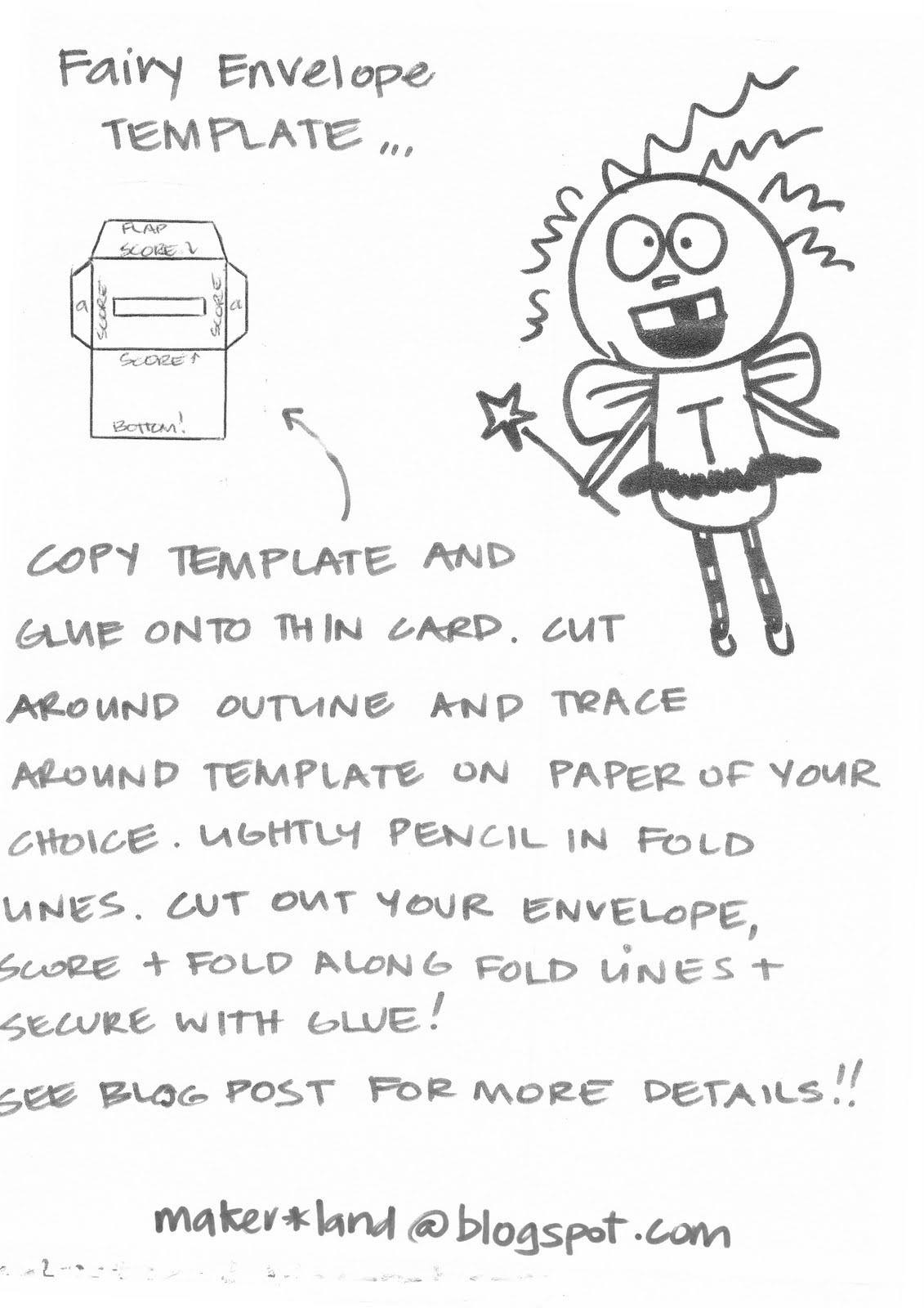 Tooth fairy envelopes template search results calendar for Fairy letters