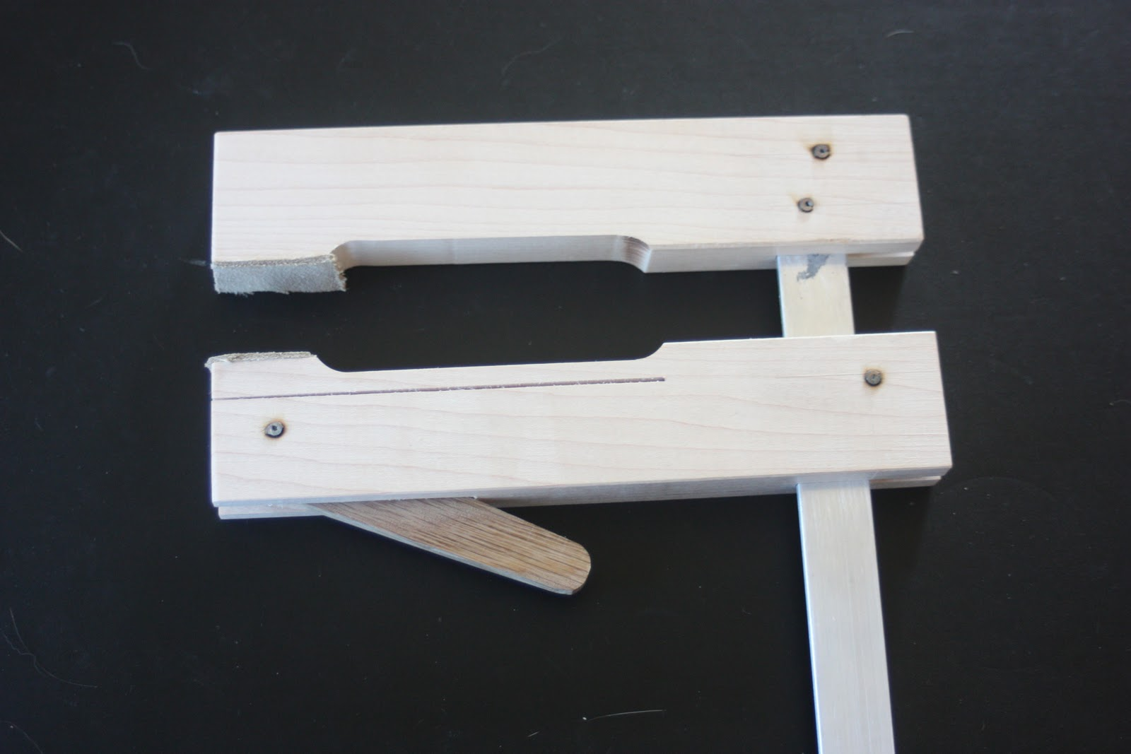 bray Furniture Studio Shopmade Cam Clamps Revisited