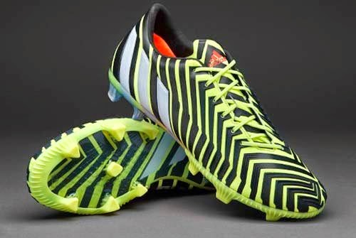 2015 New Adidas Predator with Light Flash Yellow